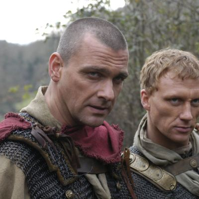 Ray Stevenson and Kevin McKidd as Pullo and Vorenus in Rome