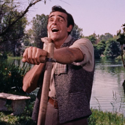 Sean Connery Singing in Darby O'Gill and the Little People