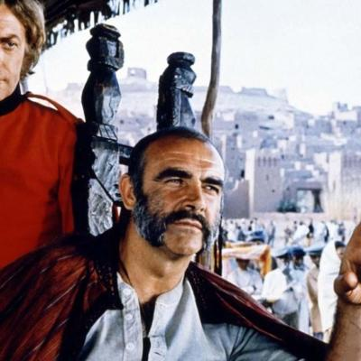 Sean Connery and Michael Caine in The Man Who Would Be King