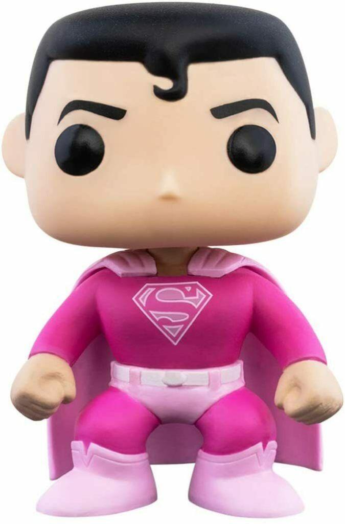 Funko POP!: DC Heroes: Breast Cancer Awareness Superman