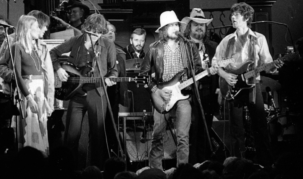 The Band in Martin Scorsese's The Last Waltz