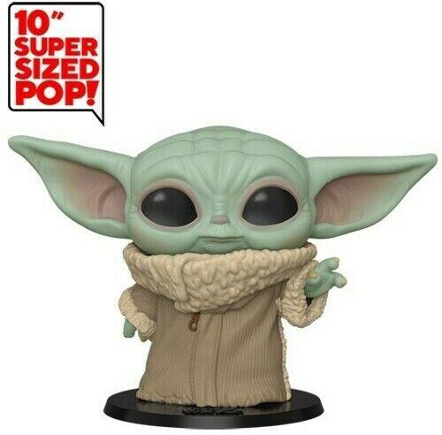 "Funko POP!: Star Wars: The Mandalorian: The Child 10"" Vinyl Toy"