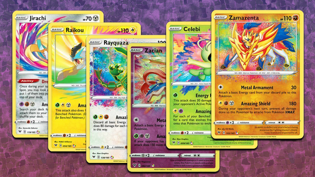 Pokemon Cards Amazing Rare