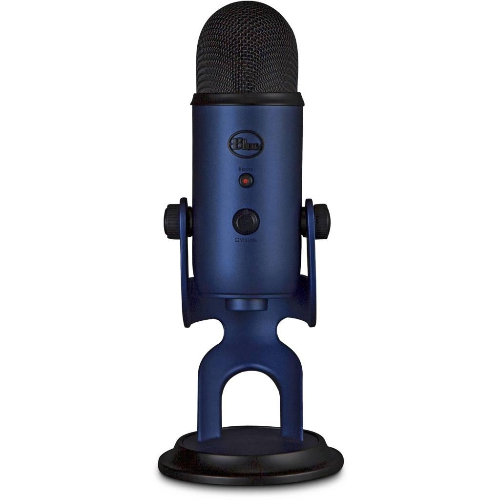 Micrófono Yeti azul