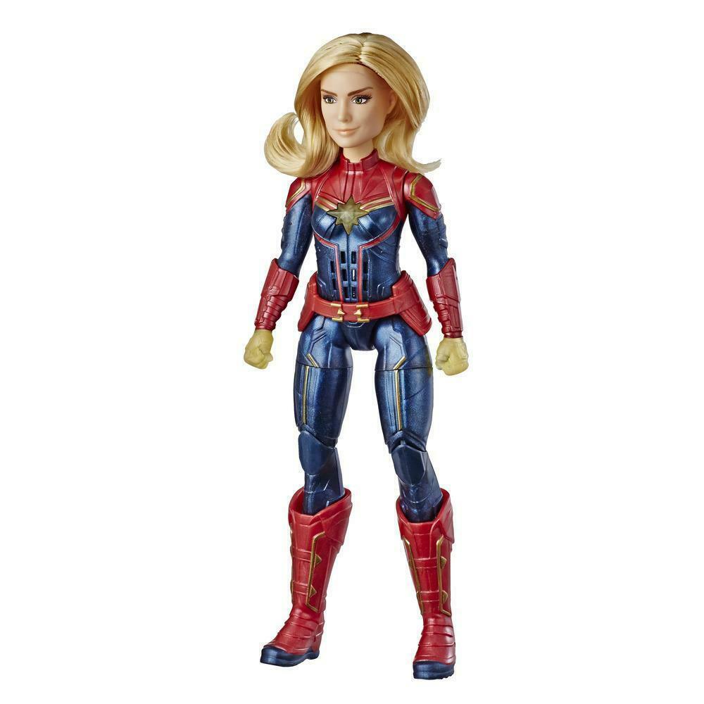 Marvel: Captain Marvel: Photon Power FX Captain Marvel Electronic Super Hero Doll