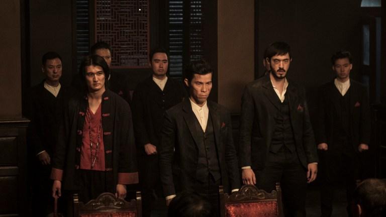 Chen Tang, Jason Tobin, and Andrew Koji on Cinemax's Warrior