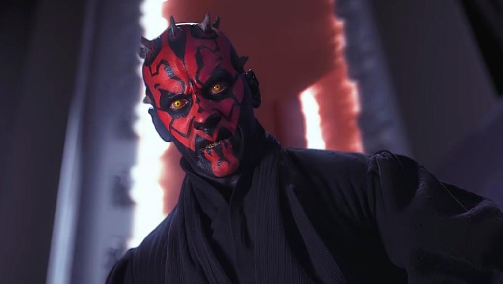 Ray Park dans le rôle de Dark Maul dans Star Wars : La Menace Fantôme