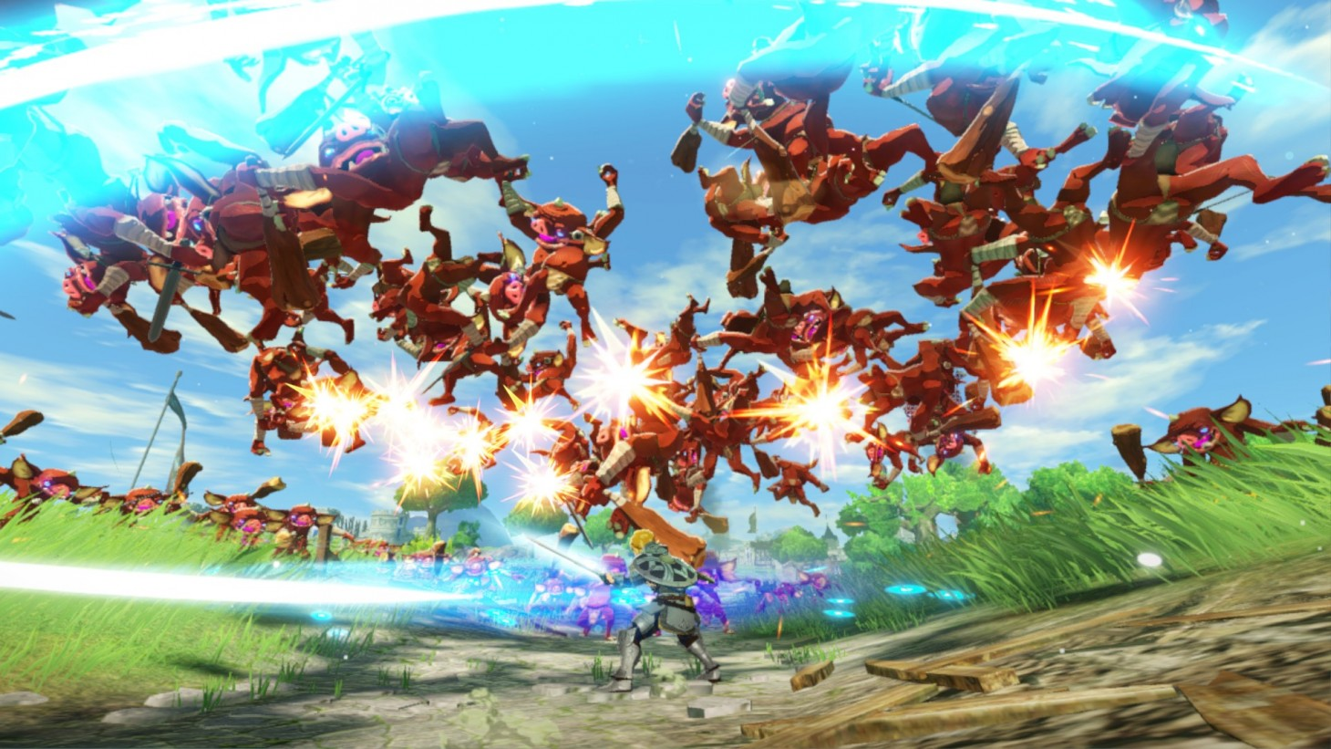 Hyrule Warriors Age Of Calamity Review Den Of Geek
