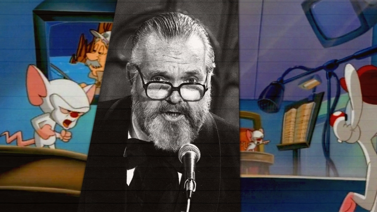 Animaniacs: Pinky and the Brain and Orson Welles