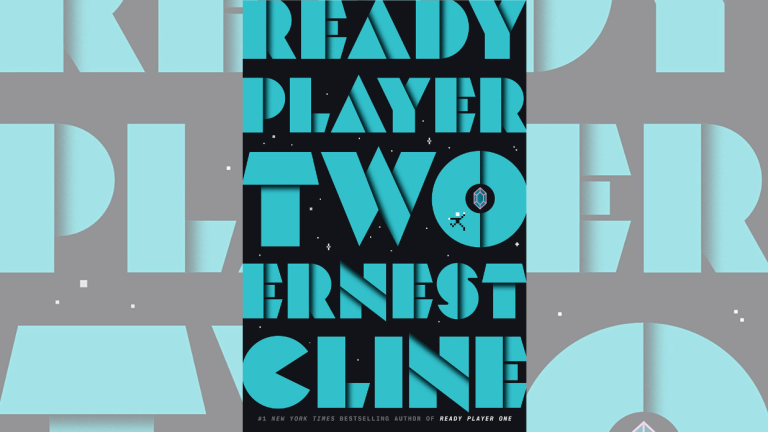 The Cover For Ernest Cline's Ready Player Two