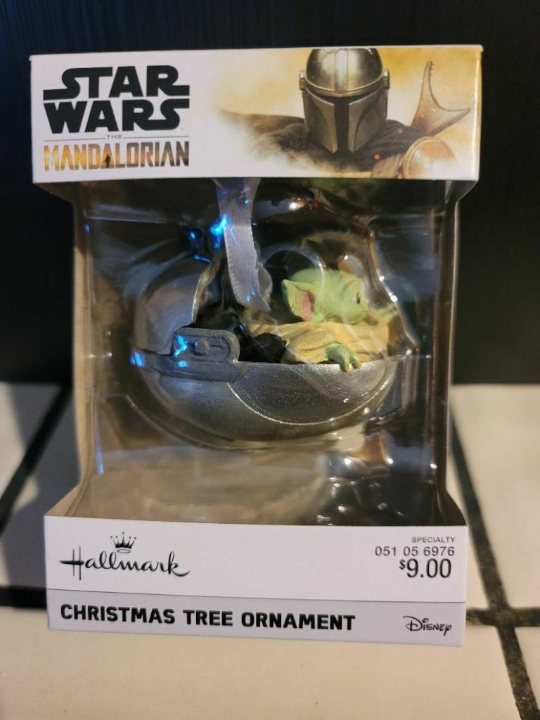 The Mandalorian: The Child Baby Yoda Christmas Ornament