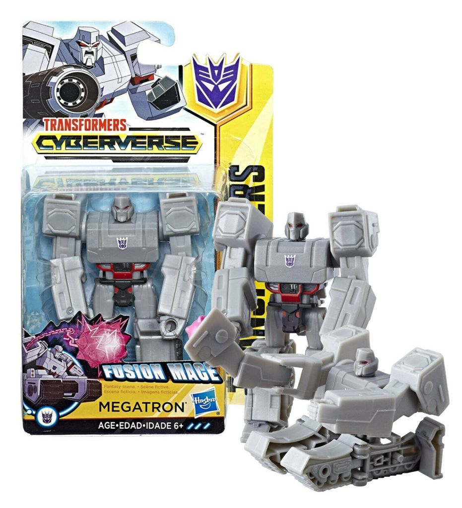 Fusion Mace Megatron Transformers Toy