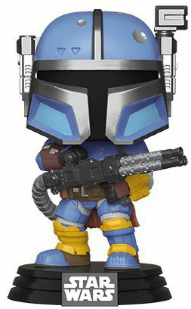 Funko Pop Star Wars The Mandalorian - Heavy Infantry Mandalorian Vinyl Figure