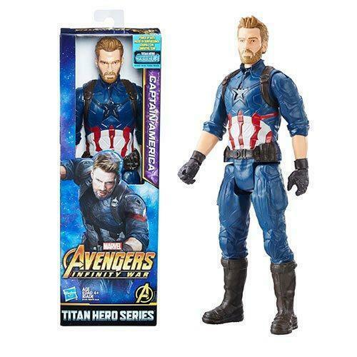 Captain America with Titan Hero Power FX Port
