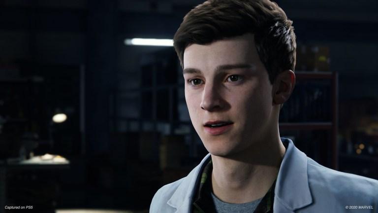 Spider-Man Game Peter Parker
