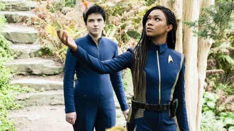 Michael and Adira in Star Trek: Discovery