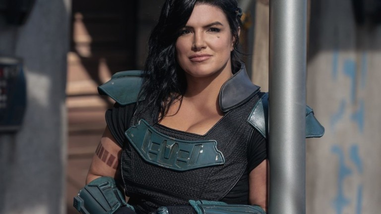 A Picture Of Gina Carano As Cara Dune In Star Wars: The Mandalorian
