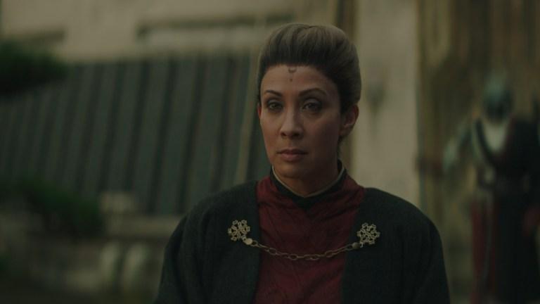 The Mandalorian Magistrate Morgan Elsbeth