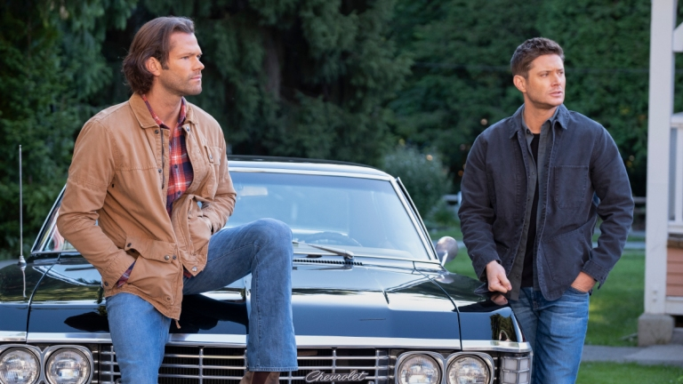 Sam and Dean in the Supernatural Series Finale