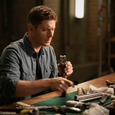 Jensen Ackles as Dean in the Supernatural Series Finale