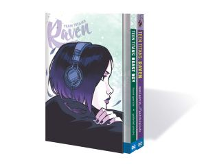 Teen Titans: Raven and Beast Boy Box Set Cover