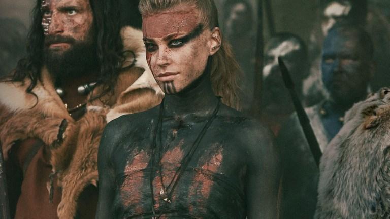 Jeanne Goursaud as Thusnelda in Barbarians