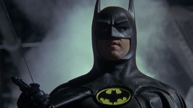 Michael Keaton as Bruce Wayne in Tim Burton's Batman (1989)