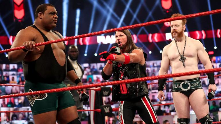 AJ Styles on WWE Monday Night Raw