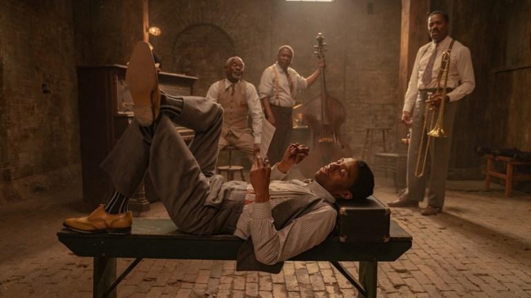 Chadwick Boseman in Ma Rainey's Black Bottom Ending