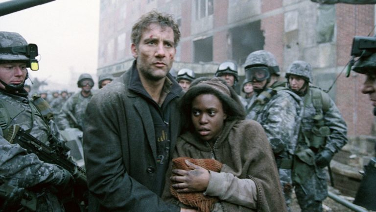 Children of Men directed by Alfonso Cuaron