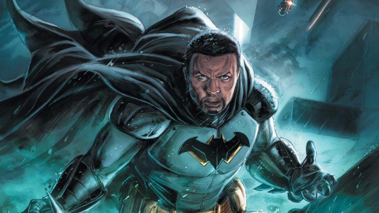 Tim Fox is Future States new Batman