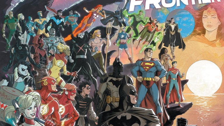 DC's next big move is to the Infinite Frontier