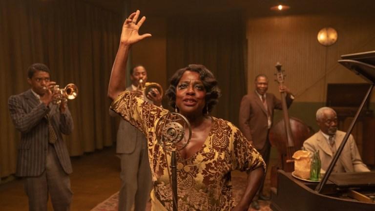 Viola Davis and Chadwick Boseman in Ma Rainey's Black Bottom