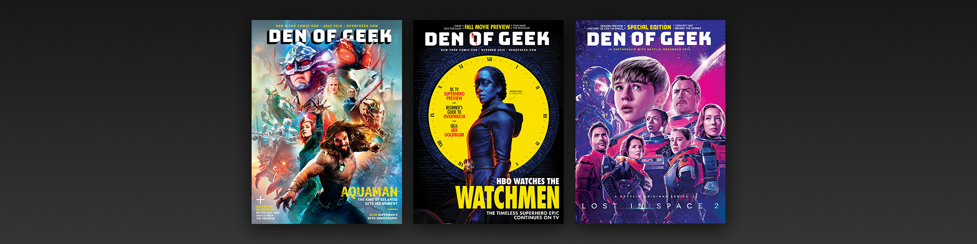 Den of Geek Magazine subscription banner