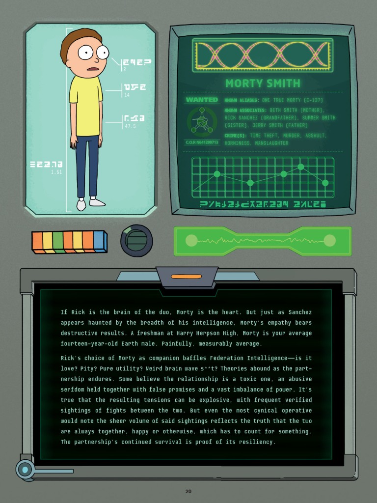 Rick and Morty Character Guide Delves Into the Multiverse | Den of Geek