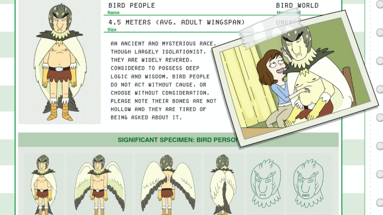 Rick and Morty Character Guide