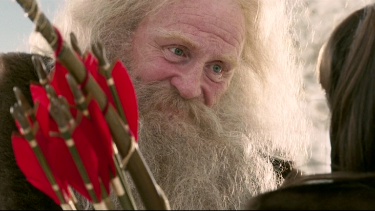 Santa Claus as Father Christmas in The Chronicles of Narnia