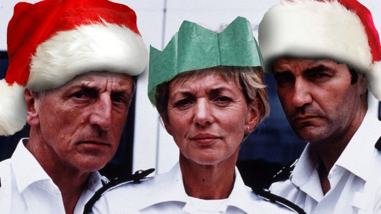 The Bill Christmas header