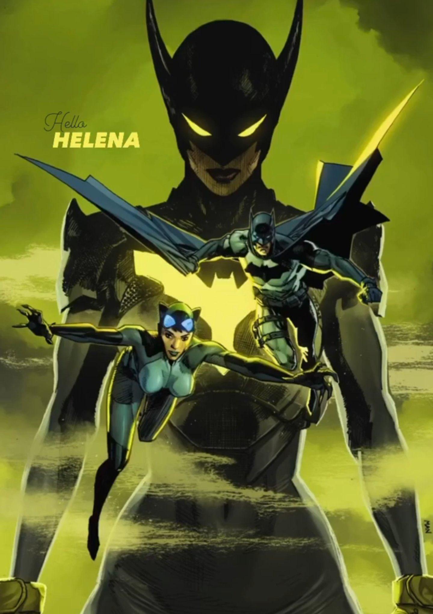 Batman/Catwoman #4 Helena Wayne