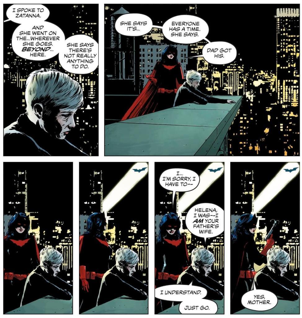 Helena Wayne and Selina Kyle in DC Comics