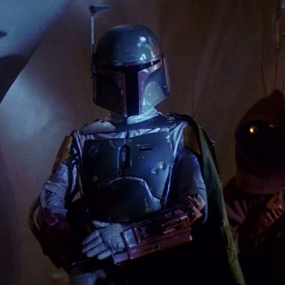 Jeremy Bulloch as Boba Fett in Star Wars: Return of the Jedi