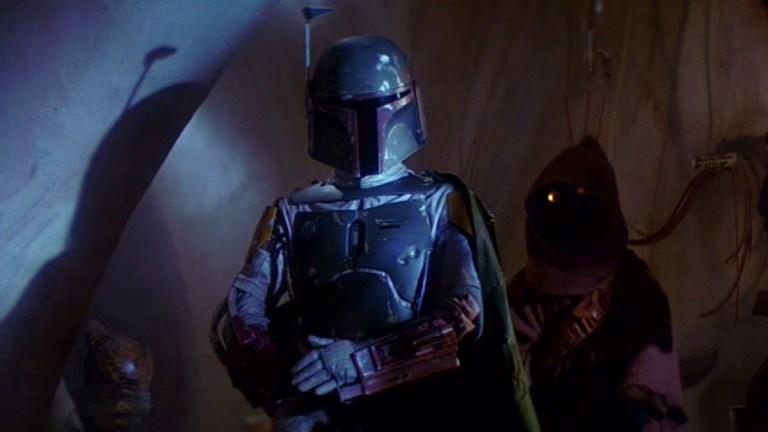 Jeremy Bulloch as Boba Fett in Star Wars: Return of the Jedi