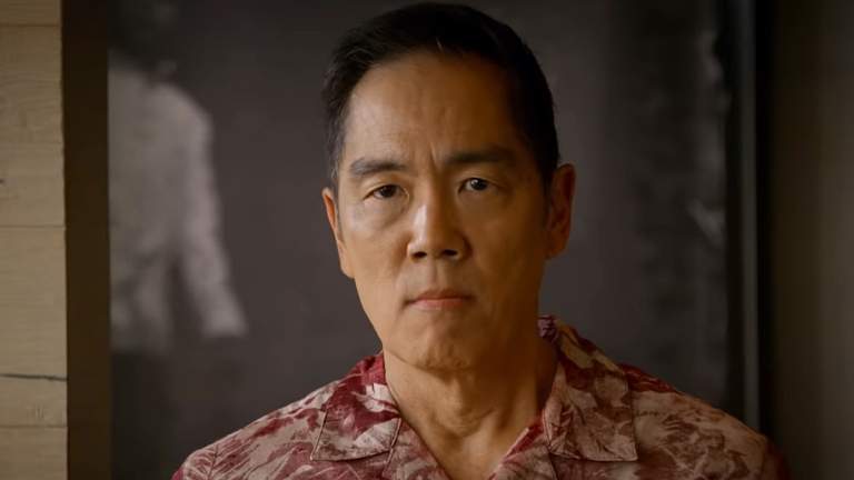 Yuji Okumoto as Chozen on Cobra Kai Season 3