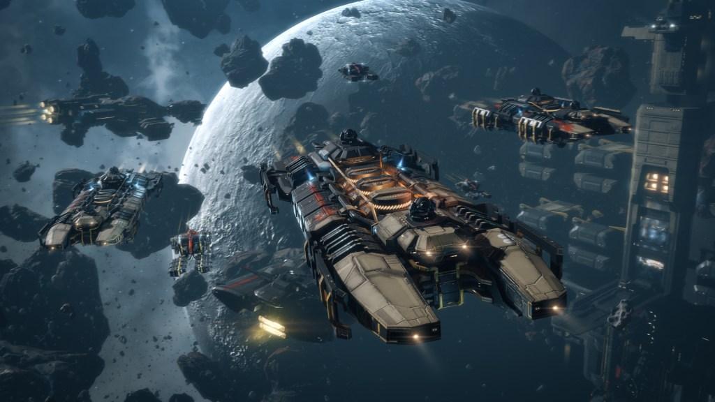 EVE Online Mining Fleet