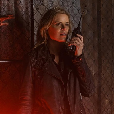 """Kim Dickens as Madison Clark in Fear the Walking Dead episode """"No One's Gone"""""""