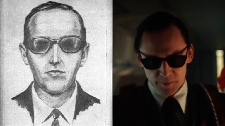 Tom Hiddleston as Loki as D.B. Cooper