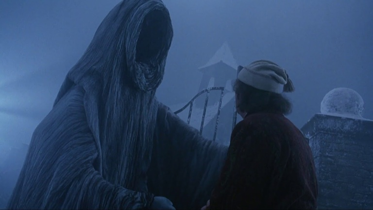 The Ghost of Christmas Yet to Come in Muppet Christmas Carol