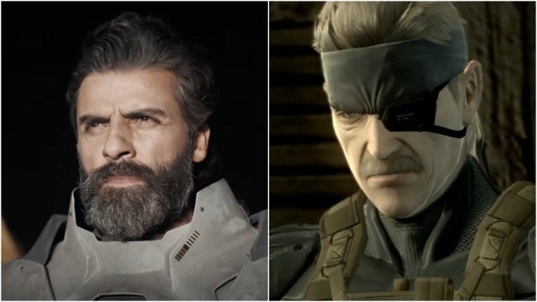 Metal Gear Solid Oscar Issac