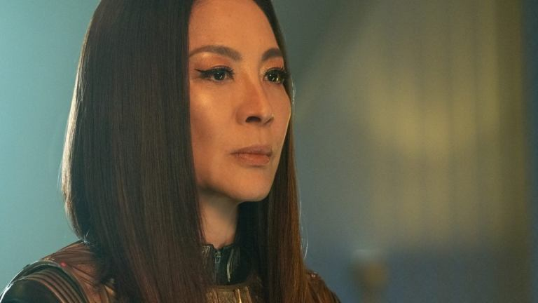 Michelle Yeoh's Georgiou Meets The Guardian of Forever in Star Trek: Discovery Season 3