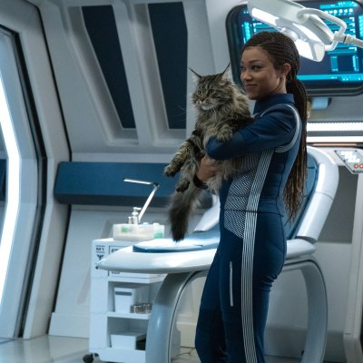Michael and Grudge in Star Trek: Discovery Season 3